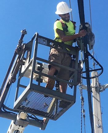 Professional workforce cable technician